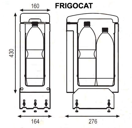 Автохолодильник Indel B Frigocat 24V - фото 3